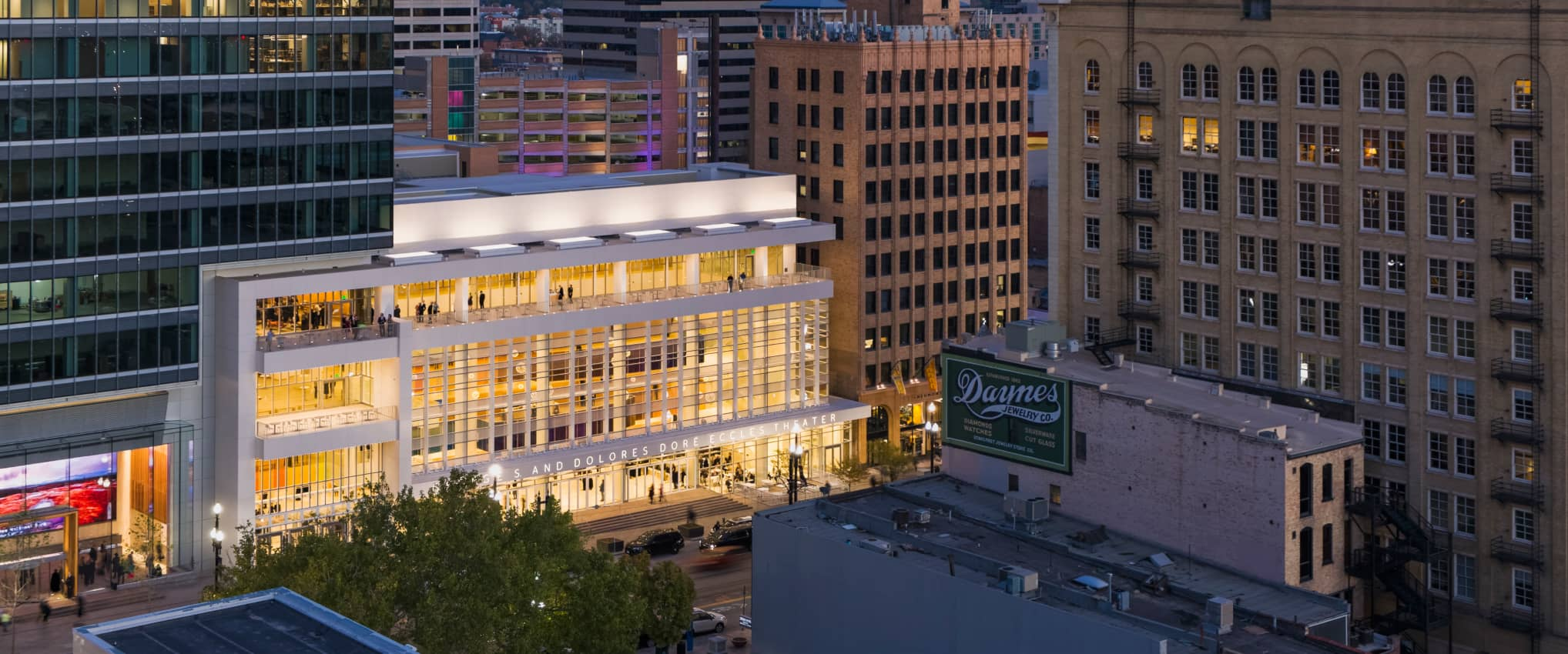 The George S. and Dolores Doré Eccles Theater