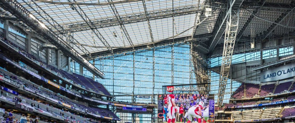 ETFE Creates Visual Transparency and Sustainability for U.S. Bank Stadium in Minneapolis