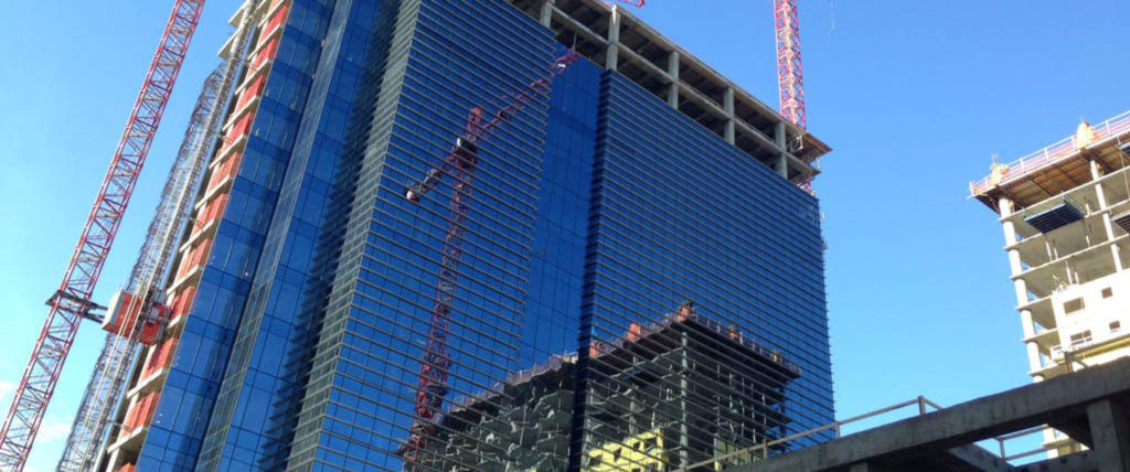 The $300 million HKS-Designed Union Development North of Downtown Dallas Tops Out