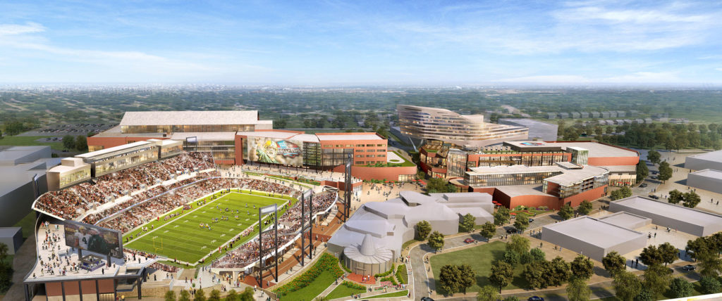 The Pro Football Hall of Fame Debuts New Stadium and Latest Renderings