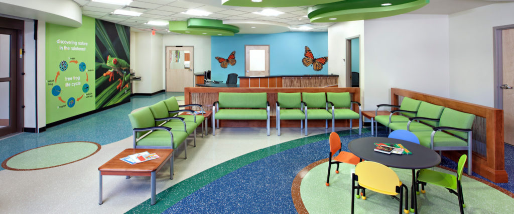 HKS Receives 2011 Brightest Idea Interior Design Excellence Award for VCU Health Adult and Pediatric Emergency Department
