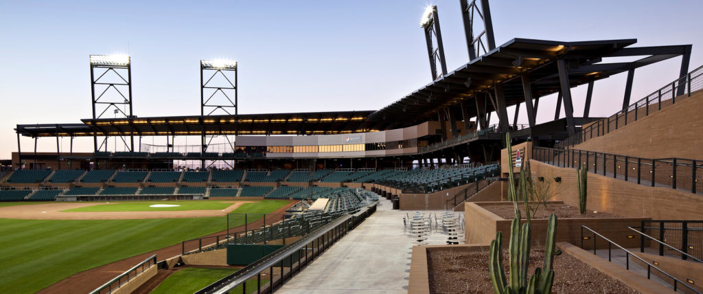 HKS-Designed Salt River Fields at Talking Stick Wins 2011 Ballpark of the Year Award