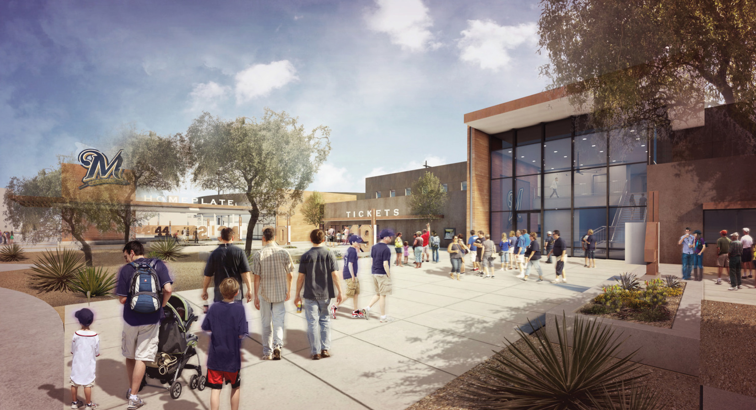 It's all About Teamwork: HKS Designed Brewers Spring Training Complex Renovation is a Hit