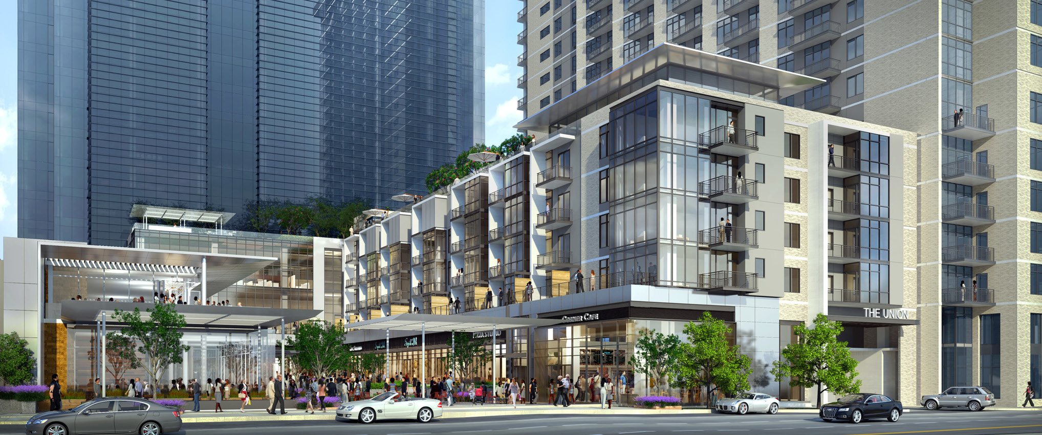The Union by HKS Brings Mixed-Use to Uptown Dallas