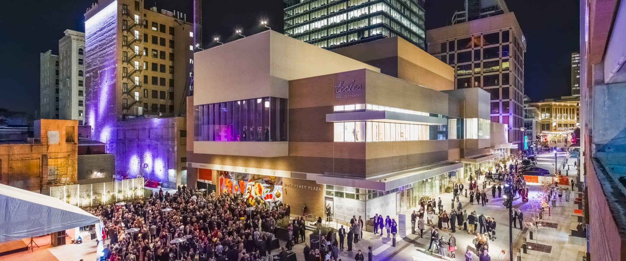Eccles Theater: Delivering Encore Performances, on Stage and Off