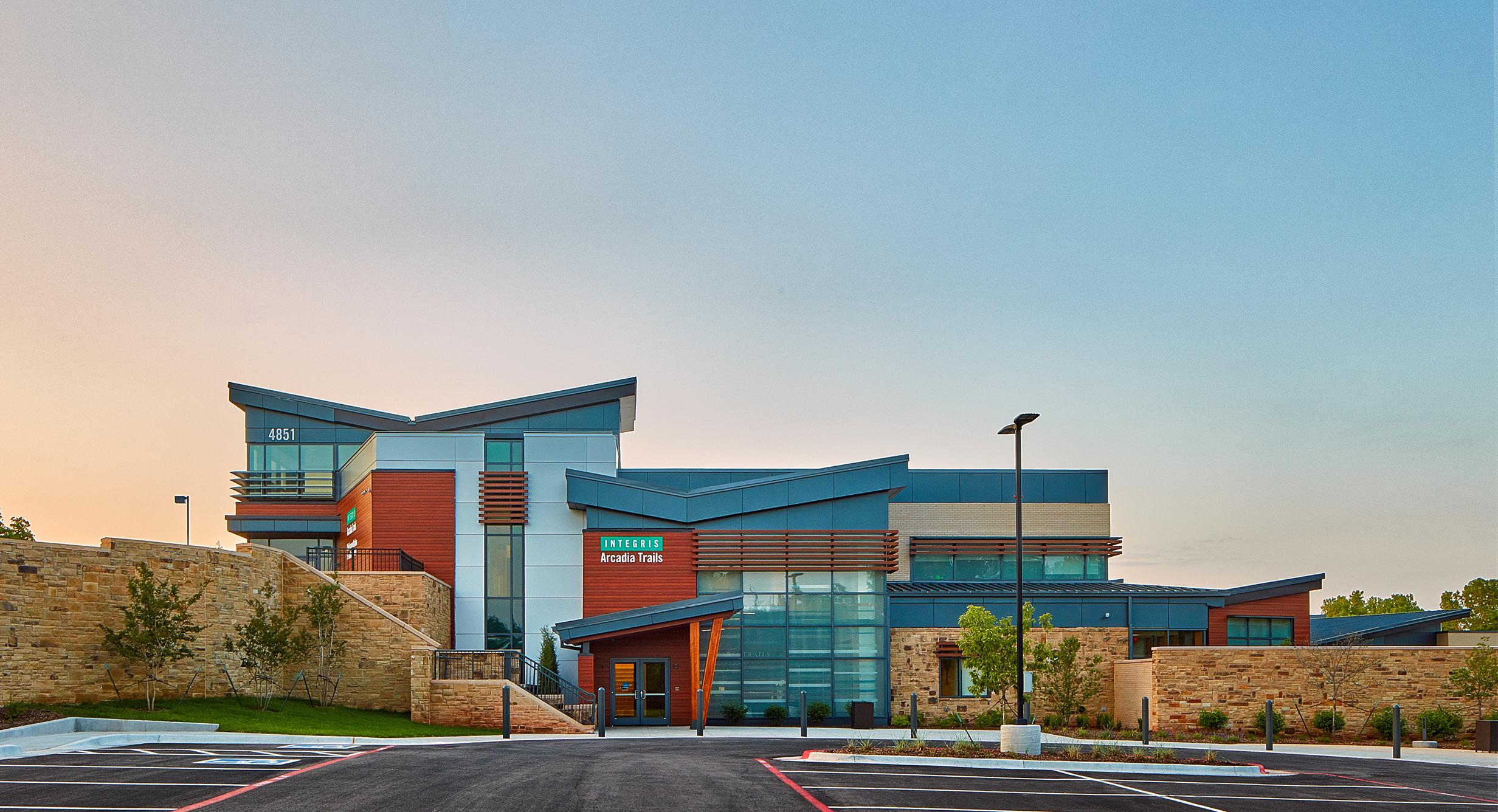HKS-Designed Arcadia Trails Creates Idyllic Haven for Oklahoma Addiction Patients