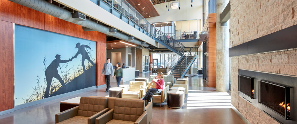 HKS-Designed True Worth Place Wins 2018 Social Innovation Award from Contract Magazine