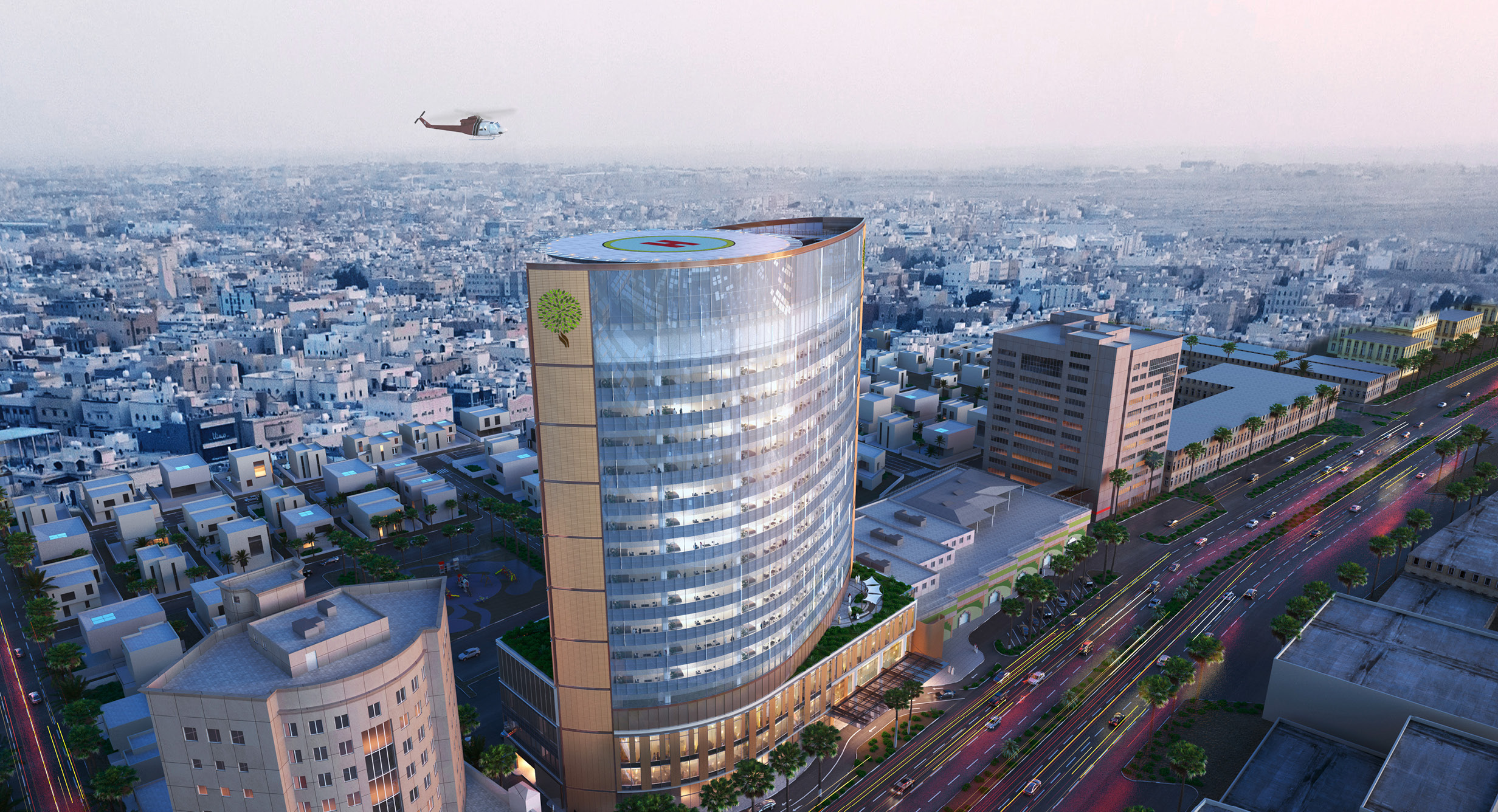 Al Moosa Specialist Hospital Bed Tower Expansion