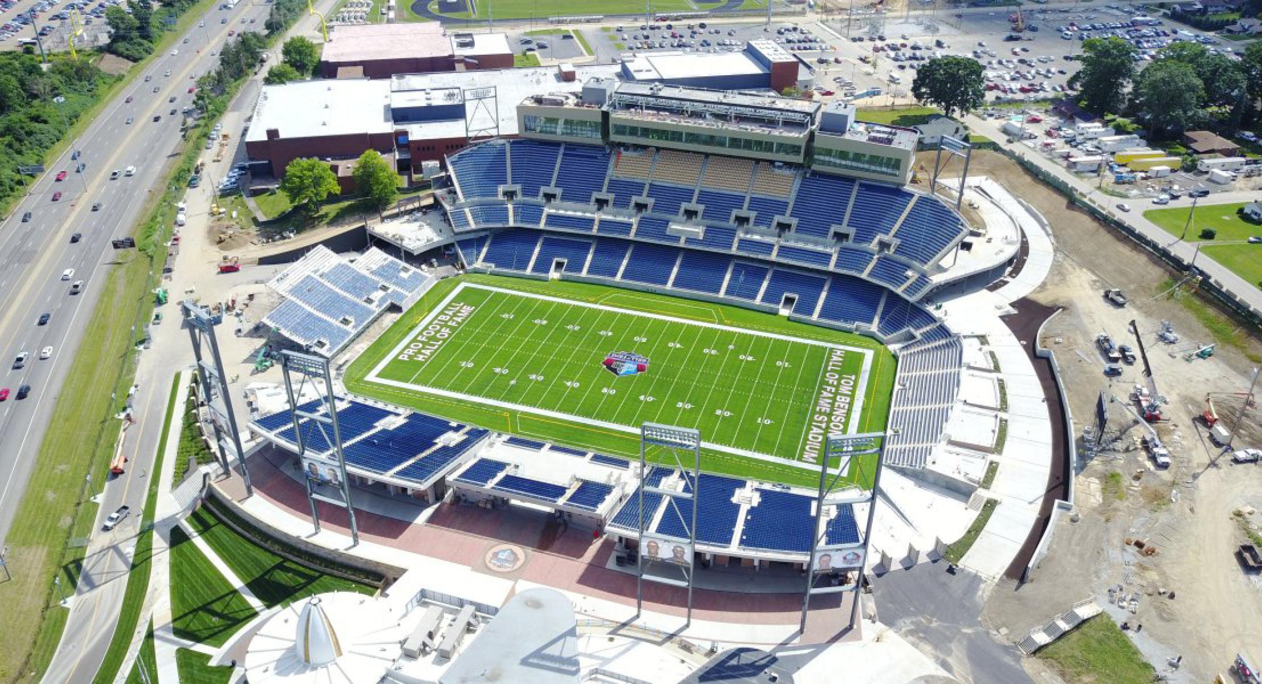 Tom Benson Hall of Fame Stadium & Johnson Controls Hall of Fame Village