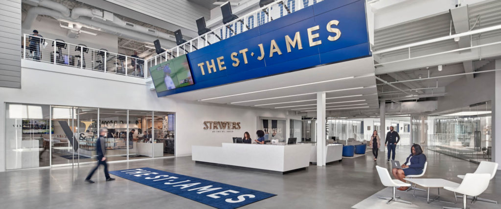Interior Design Lists HKS-Designed The St. James As One of the Top 10 Health, Wellness & Beauty Projects of 2019