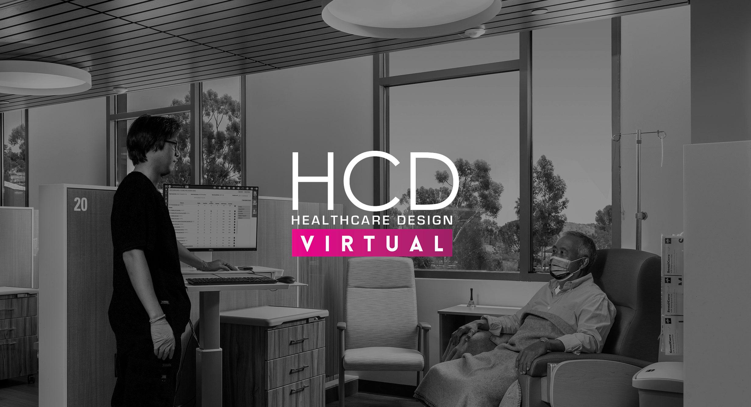 Seven HKS Health Design Leaders to Speak at the HCD Healthcare Design Virtual Conference