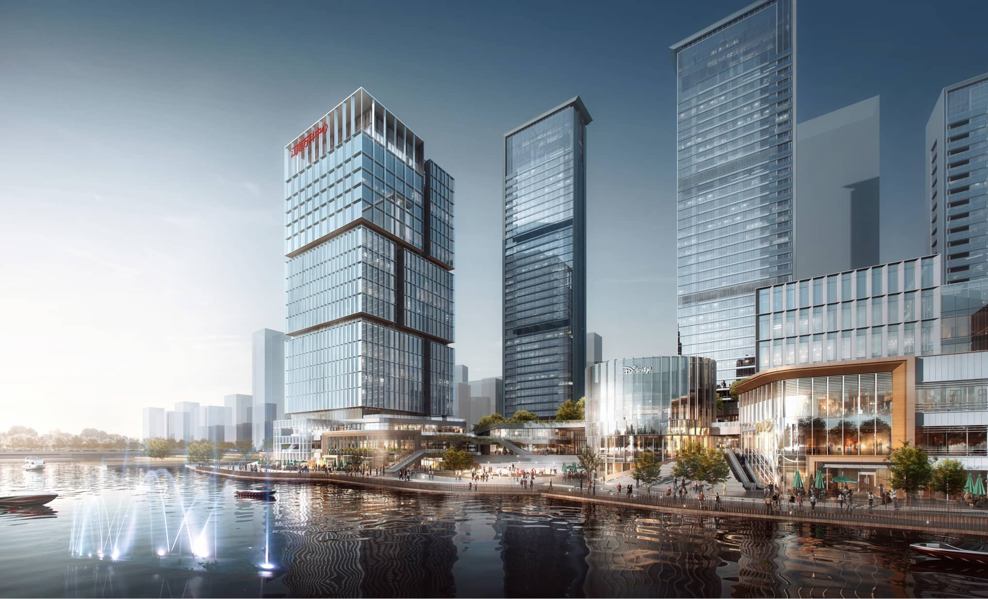 The 2022 Asian Games Athlete Village Waterfront Mixed-Use