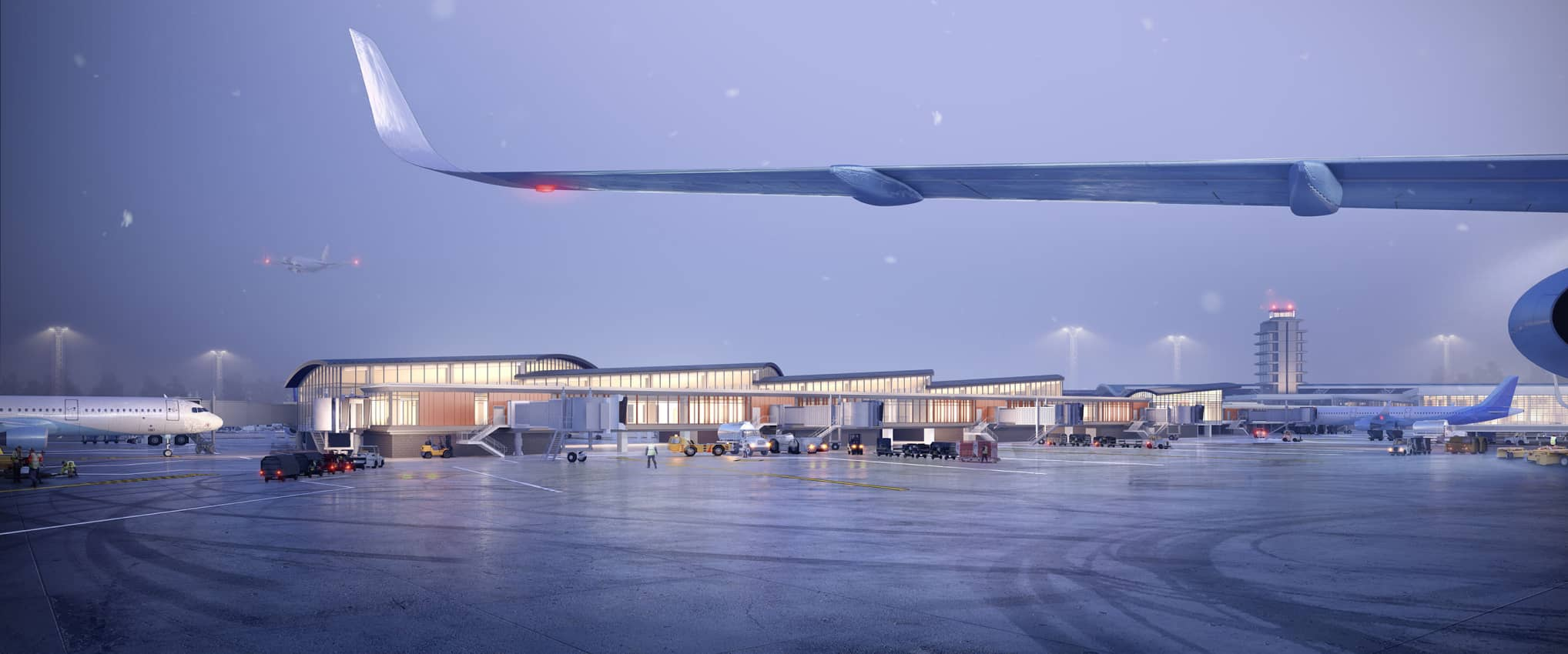 Gerald R. Ford International Airport Project Elevate: Concourse A Expansion