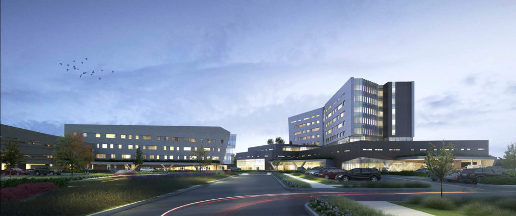 HKS-Designed THR Frisco Receives Honorable Mention in 2021 Healthcare Design Showcase
